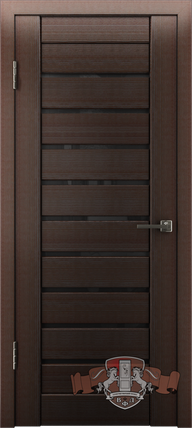 Межкомнатная дверь ВФД Line Л3ПГ4 (ст. черное) - купить в ...